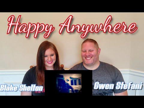 Blake Shelton - Happy Anywhere (feat. Gwen Stefani) (Official Music Video) REACTION