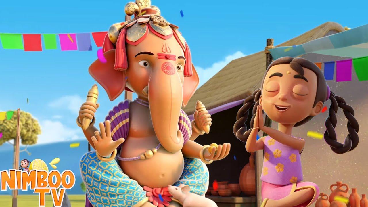Ganpati Bappa Aa Rahe | Ganesh Chaturthi Ki Shubhkamnaye 2021 | Ganpati Bappa Moriya | Nimboo Kids