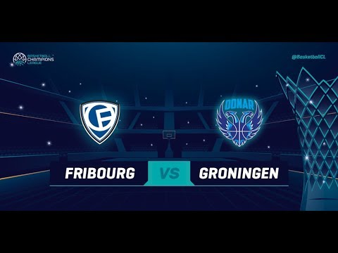Fribourg Olympic v Donar Groningen - Qualif. Rd. 2 - Basketball Champions League 2018
