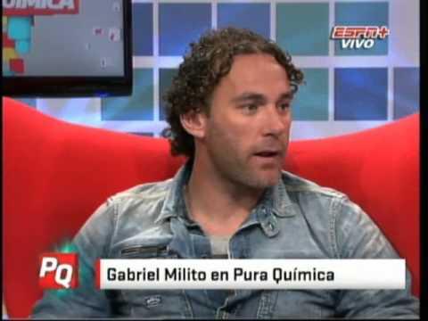 Gabriel Milito En Pura Quimica (24-10-2012)