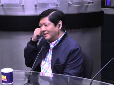 Did your father order Ninoy killed? No, says Bongbong