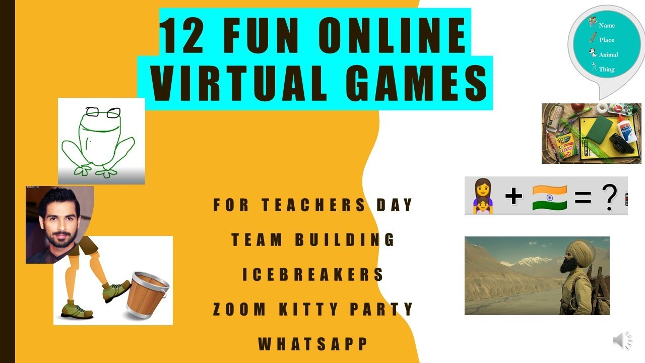 12 Fun Games To Play On Zoom Online Games Zoom Games To Play With Friends Zoom Games Youtube