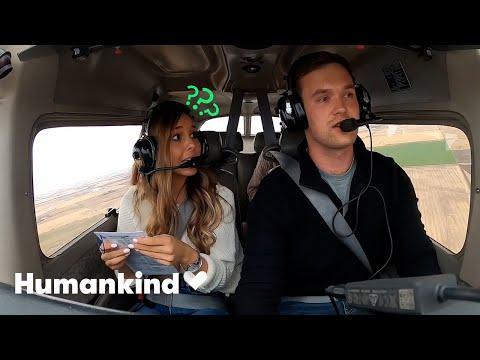 Fake emergency landing turns into romantic proposal | Humankind