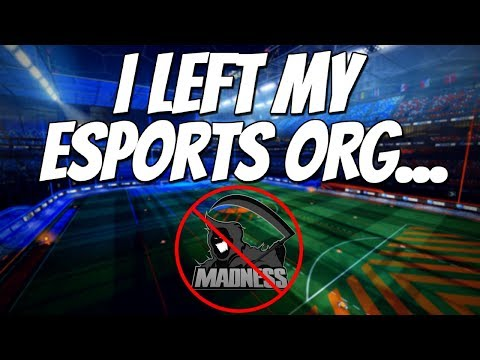 WHY I LEFT MY ESPORTS ORG + Competitive 3v3 Gameplay (Rocket League) thumbnail
