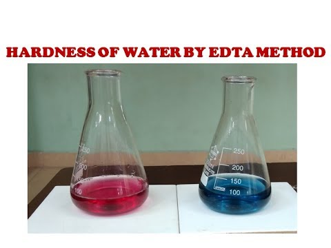 How To Determine Hardness Of Water By EDTA Method? (Procedure And Problems On Hardness)