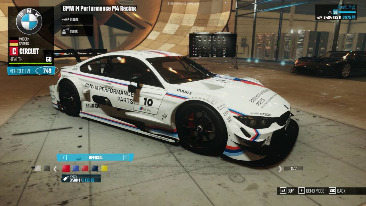 The Crew How To Get The Bmw Racing Car