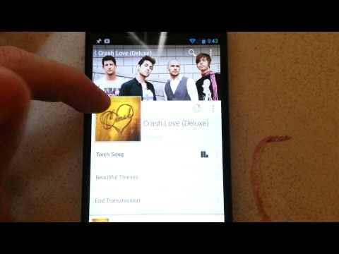 Nexus 4 Google Music Tutorial