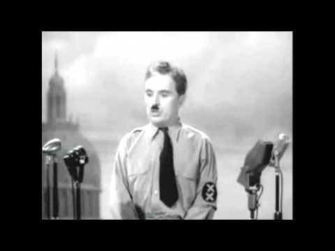 Let us all unite in the name of democracy - Charlie Chaplin [HD]