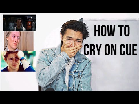 How To Cry On Cue | How To Be A Good Actor