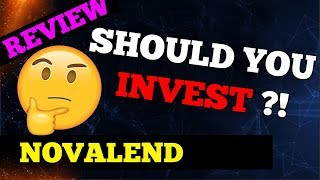 NovaLend Coin: New Crypto Lending Platform ICO Review | ERC20 Token - Should you Invest | Roadmap