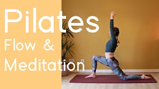 Nourishing Pilates Flow and Meditation