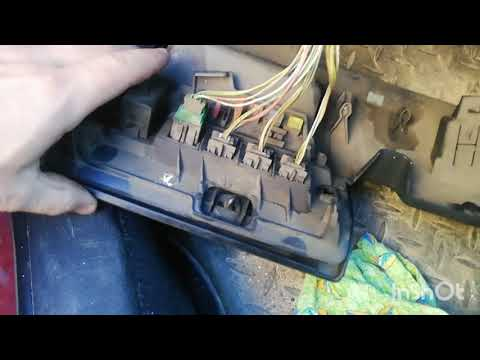 Быстрый способ снятие моторчика печки Citroen C4. Ситроен С4.