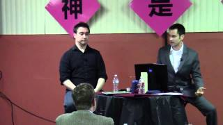 Does God Exist?  J.T. Eberhard and Aaron Brummit debate.
