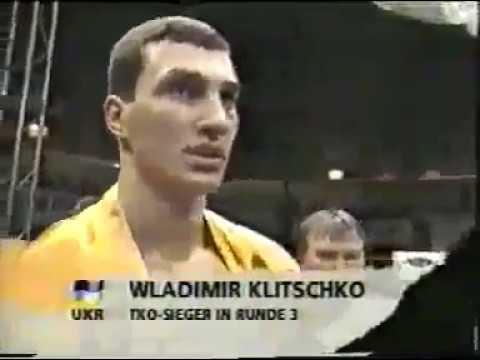 25.01.1997 Владимир Кличко - Трой Вейда (Wladimir Klitschko - Troy Weida)