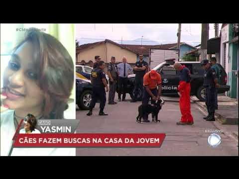 Caso Yasmin: pol�cia leva c�o farejador at� a casa da fam�lia da desaparecida