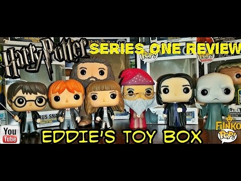 71527a545c7 Funko Pop! Harry Potter  Harry Potter Series 1 Complete Set Review! Hot  Topic Exclusive! - YouTube
