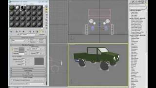 3DS Max Toy Car Reactor Tutorial 1/5