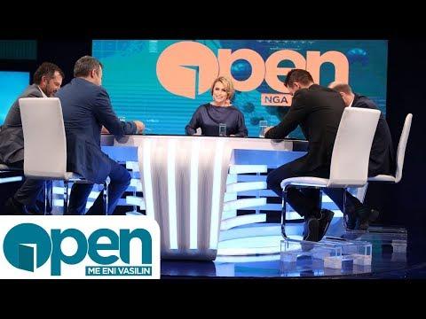 Open - Saimir Tahiri flet për Open dhe debaton me analistët në studio pas vendimit për dënimin e tij