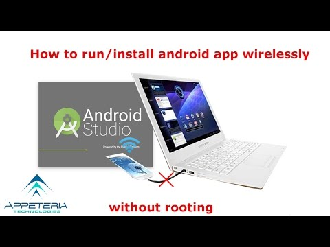 How To Test Android Apps Wirelessly In Android Studio