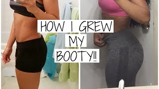 vuclip What workouts to do to grow your butt?? | How I grew my butt | Fitness Talk