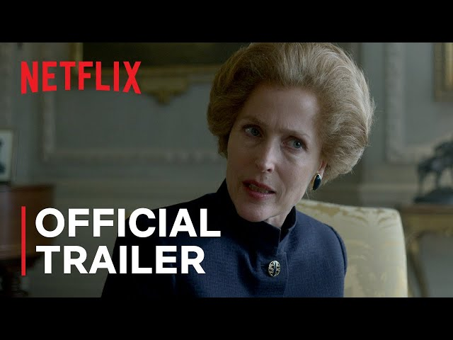 The Crown Season 4   Official Trailer   Netflix