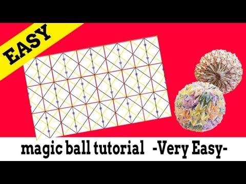 折り 折り紙 : 折り紙 マジックボール 折り方 : youtube.com