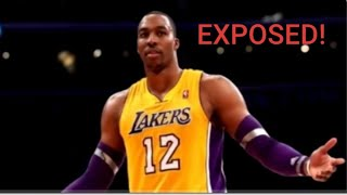 Is Dwight Howard on the DL and got Outed or is He just Selfish and really doesn't care? (Receip