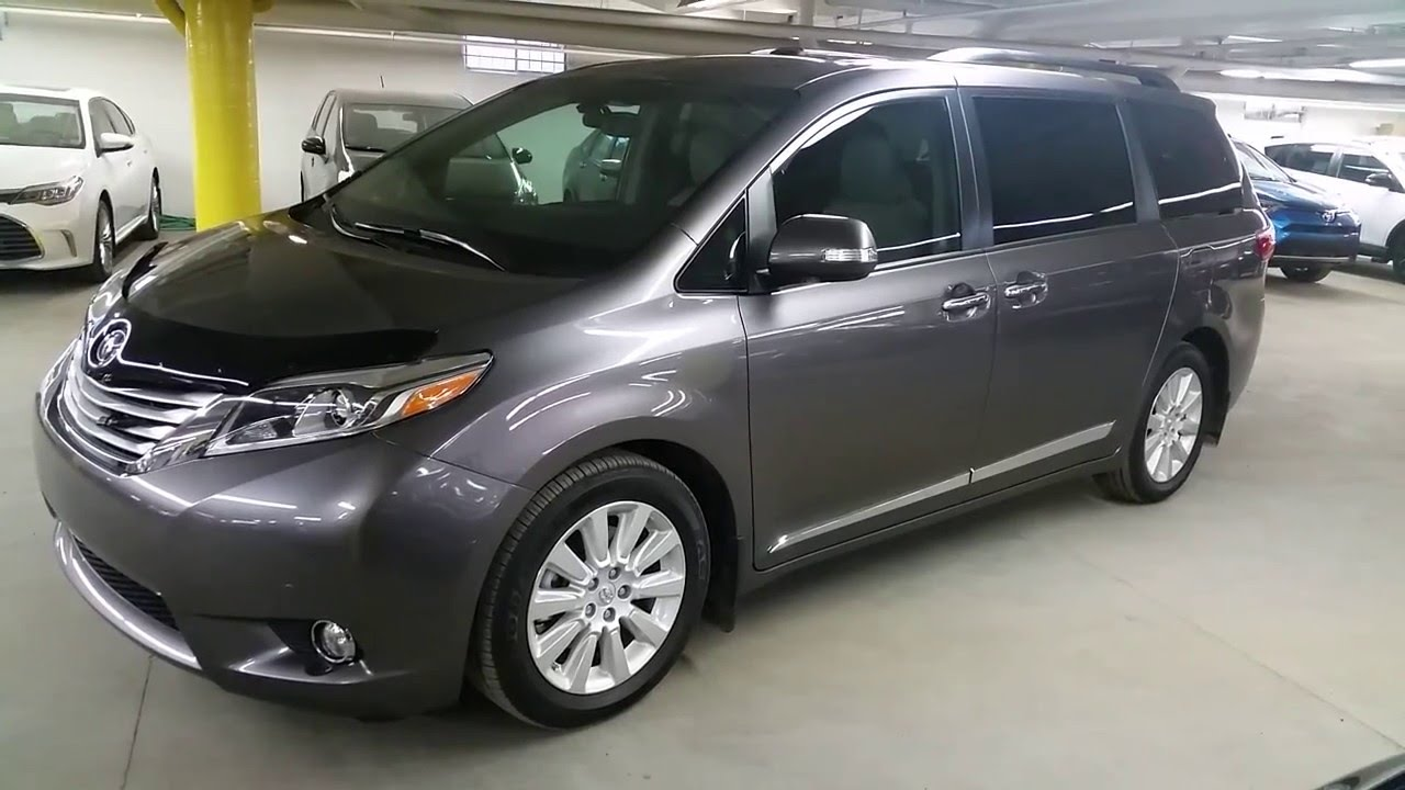 2016 toyota sienna limited fwd or awd detailed review and. Black Bedroom Furniture Sets. Home Design Ideas