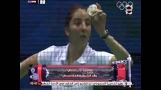 برنامج Spot on sport -  والد هادية حسنى بطلة كرة الريشة .... الدولة تهتم بالرياضة فى الوقت الحالى