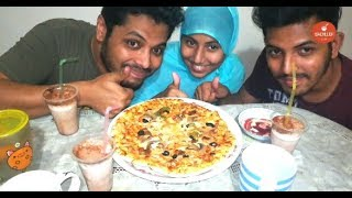 Eating Pizza With My Brother & Sister | Eating Show | Bachelor Foodie