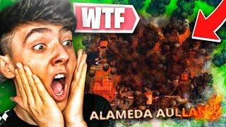 Algo raro está ocurriendo en ALAMEDA AULLANTE...