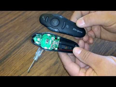 Look inside Targus wireless presenter