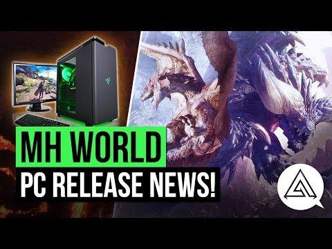 Monster Hunter World News | PC Release Window Announced!