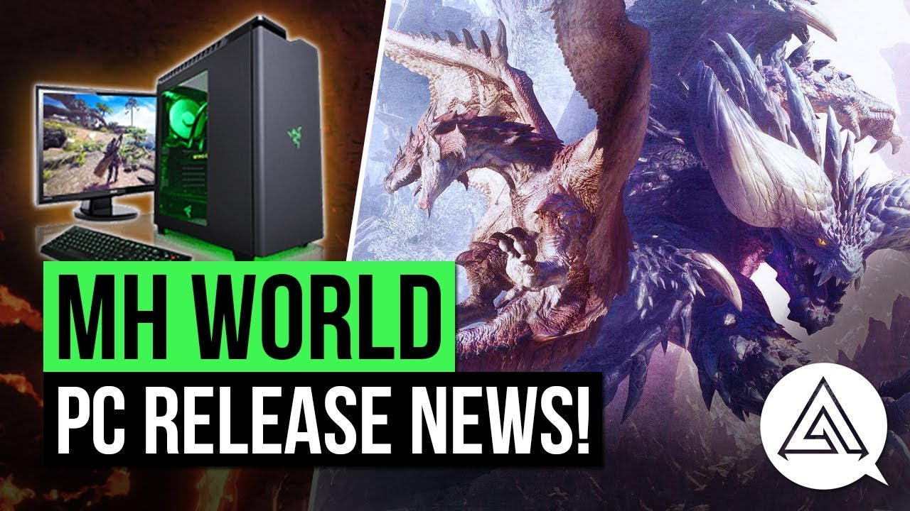 Monster Hunter World PC release info is coming next week