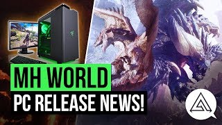 Monster Hunter World News | PC Release Window Announced!