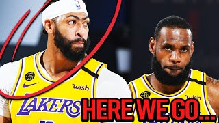 The Los Angeles Lakers Are Playing A DANGEROUS Game ft( Anthony Davis Return, Cryptic LeBron Post)