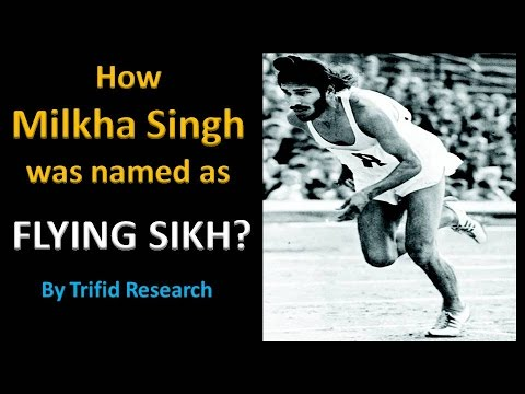 How Milkha Singh was named as Flying Sikh | Motivational | Trifid Research