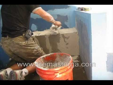 Part 2 How To Build Amp Waterproof Shower Bench Quot Seat