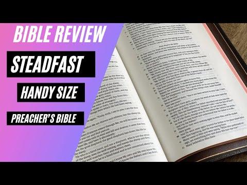 Handy Size Preacher's Bible