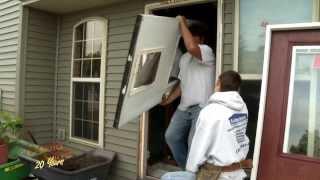 Therma Tru Fiberglass Door installation on NBC