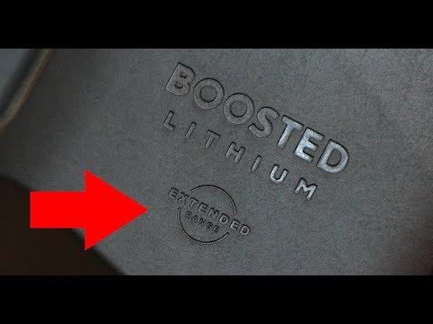 Boosted Board Extended Range Battery Test  4K!