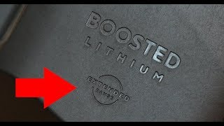Boosted Board Extended Range Battery Test - 4K! thumbnail