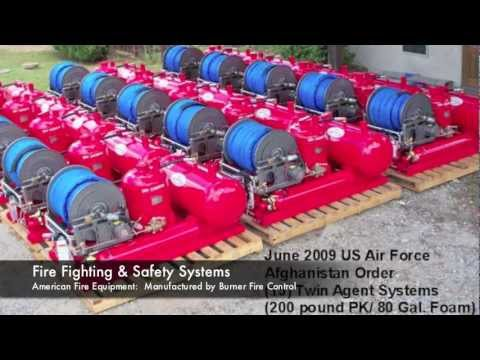 Offshore Fire Protection, Rig Cooling, Safety Compliance - Burner Fire Control