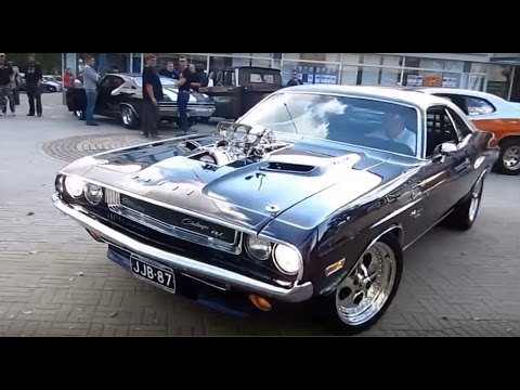 Dodge Challenger Antigo V8 >> Blown 572 Hemi 1970 Dodge Challenger R T V8 Sound Youtube