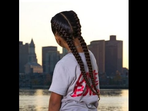 Braids Two Cornrows Youtube