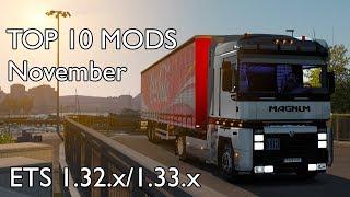 TOP 10 MODS (NOVEMBER 2018) - 1.32.x/1.33.x - Euro Truck Simulator 2