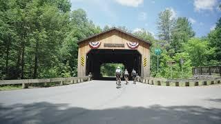 BERKSHIRE BIKE TOURS: Charlemont, Massachusetts Road Cycling