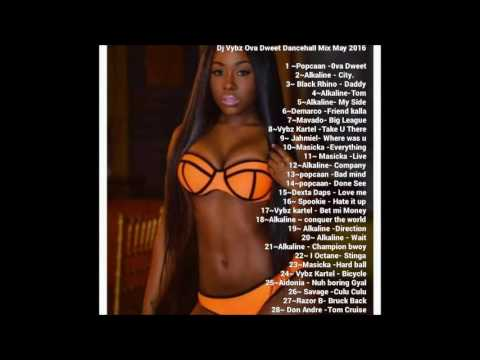 Dj Vybz Ova Dweet Dancehall Mix May 2016