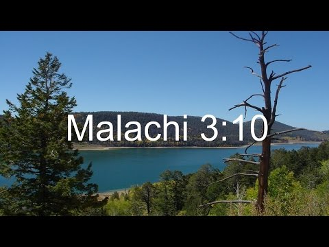 Malachi 3:10 Explained