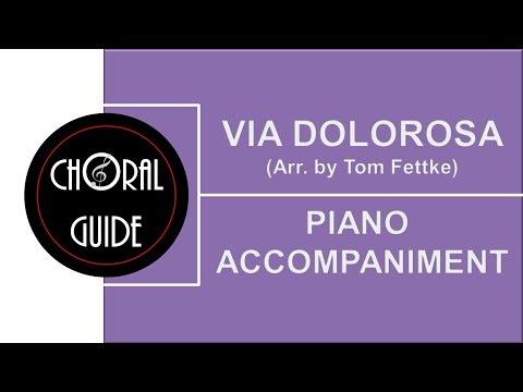 Via Dolorosa - PIANO ACCOMPANIMENT